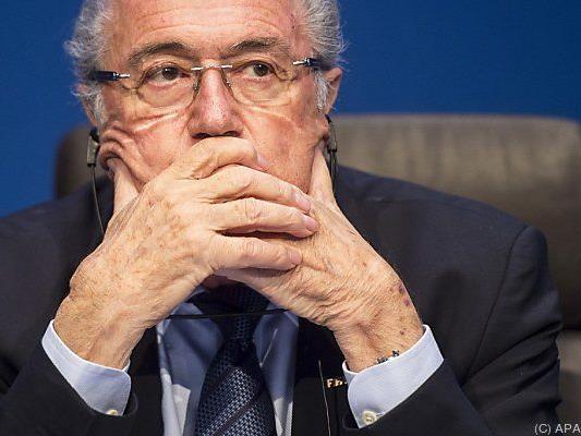 Blatter wurde der Gegenwind zu scharf