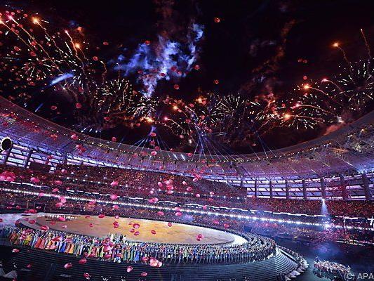 Stimmungsvolle Eröffnungsfeier in Baku
