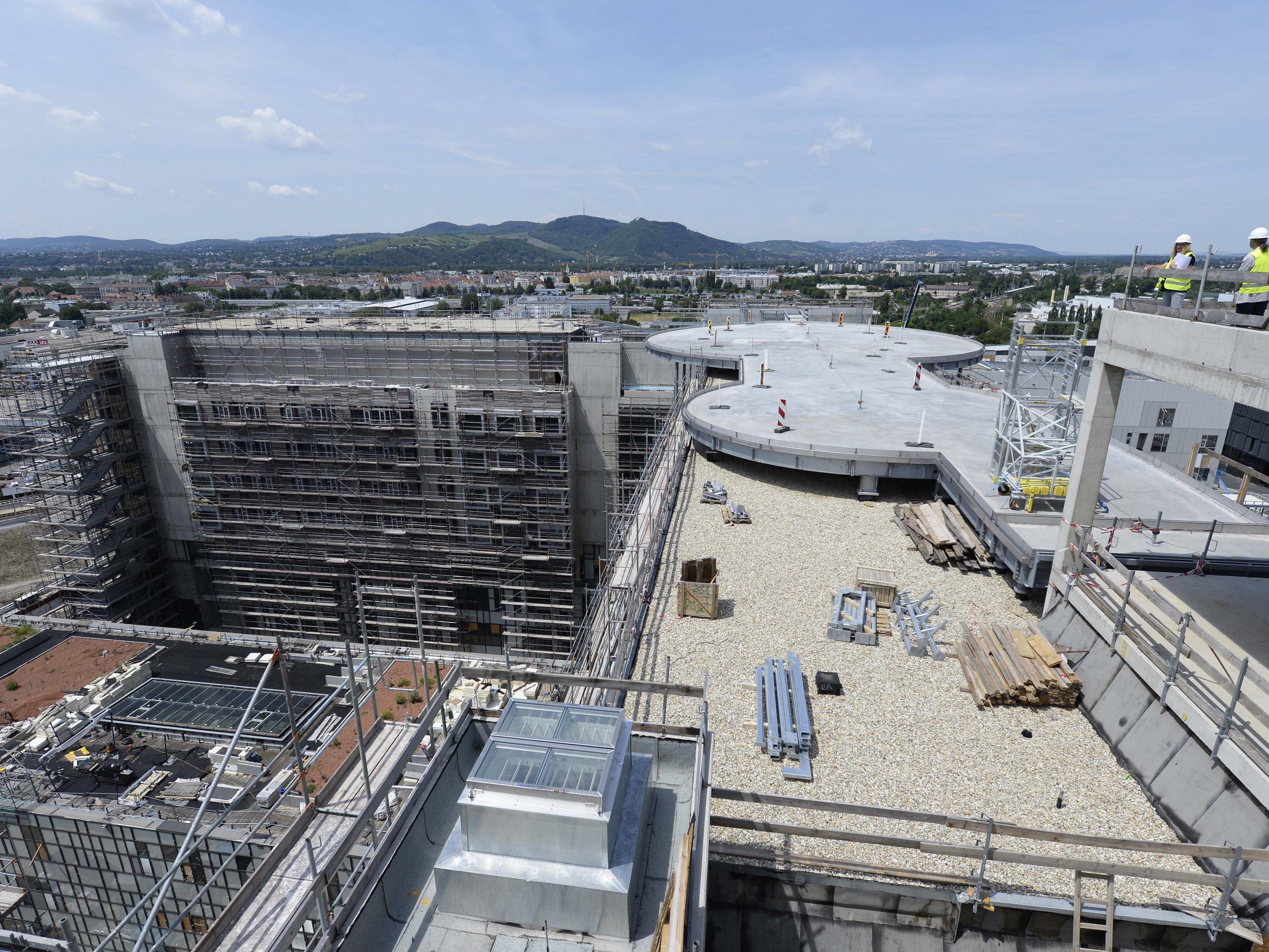 Krankenhaus Nord-Fertigstellung verzögert sich