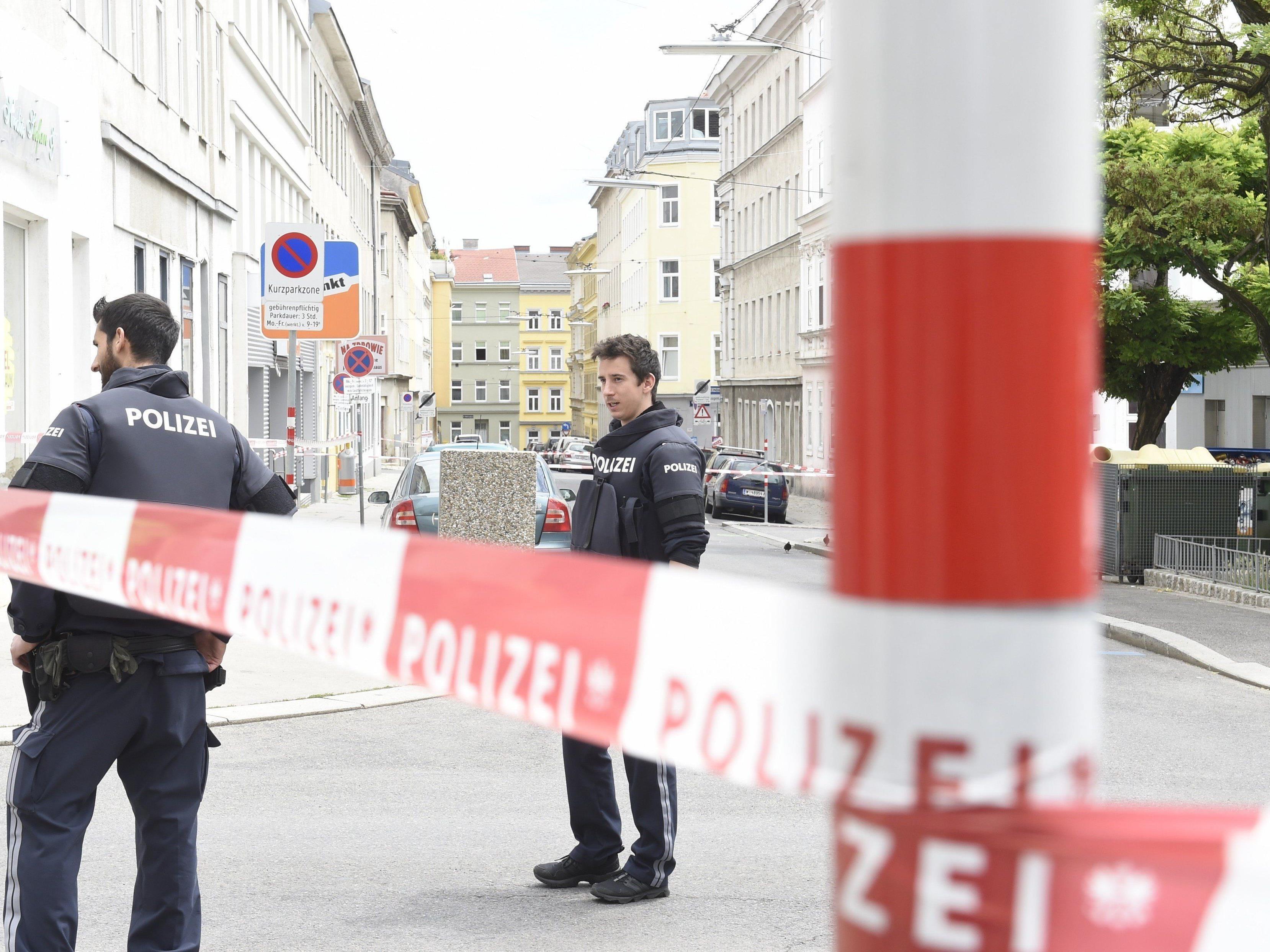 Am Dienstag stellte sich der Tatverdächtige nach der Schussabgabe in Wien-Hernals.