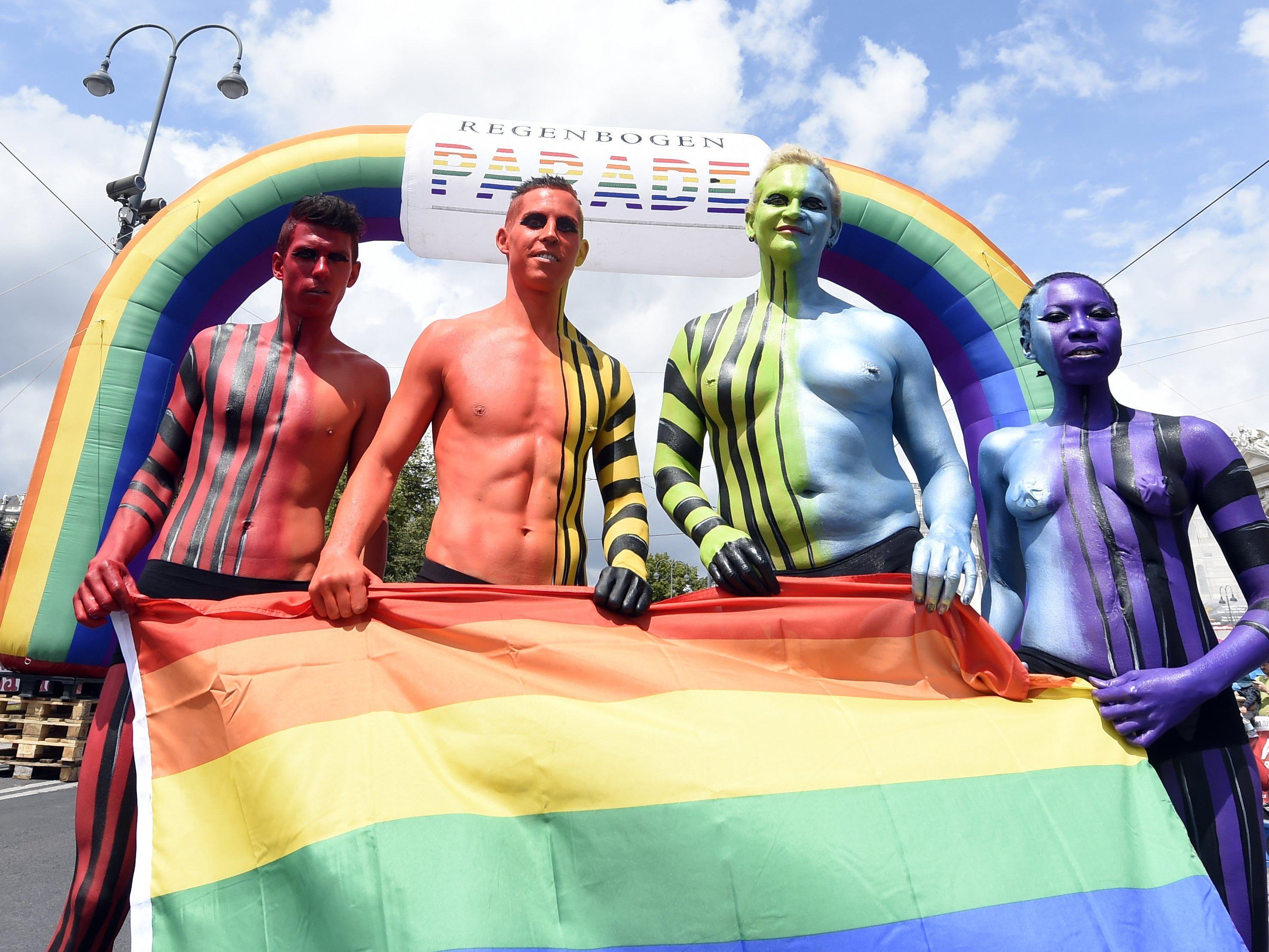 So war die Regenbogenparade 2015.