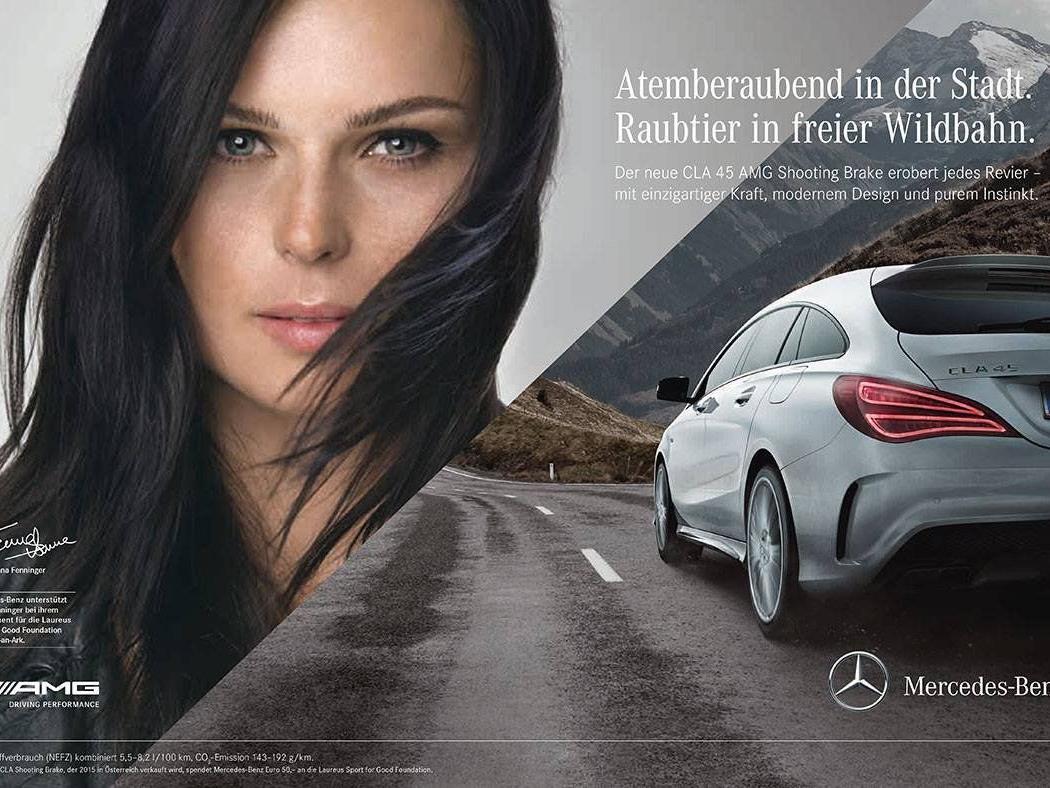 Um diese Werbung dreht sich der neuerlich eskalierte Streit zwischen Fenninger und dem ÖSV.
