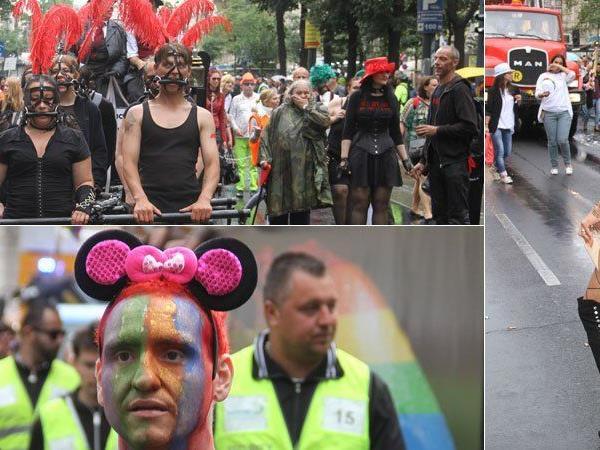 Bereits zum 20. Mal wurde in Wien die Regenbogenparade gefeiert.