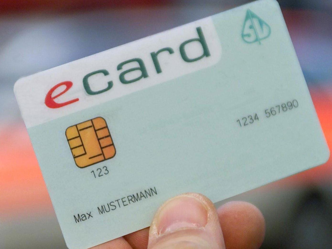 Durch die Maßnahmen soll E-Card-Missbrauch verhindert werden.