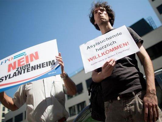 Wirbel um Foto bei FPÖ-Protestaktion.