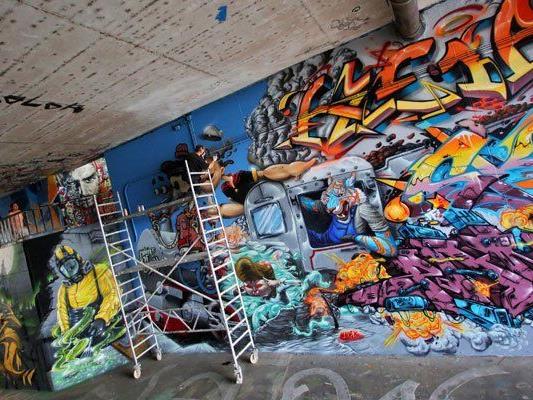 In Wien gibt es jetzt eine Graffiti-Agentur.