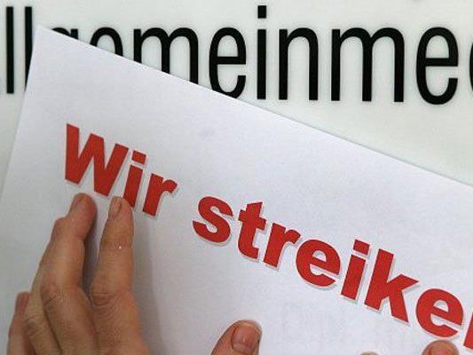 Die Wiener Ärzte drohen mit Streik.