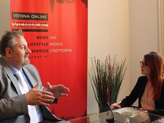 Helmut Stubner im VIENNA.at-LIVE-Interview.