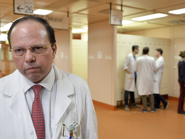 ÄK-Präsident Thomas Szekeres bleibt skeptisch.