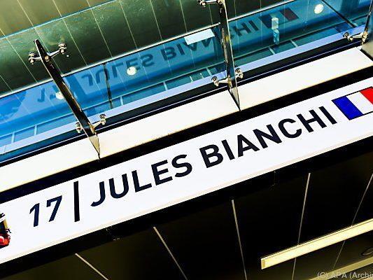 Jules Bianchi verunglückte im Oktober 2014 in Suzuka