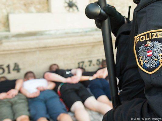 Die Polizei musste gleich mehrmals einschreiten
