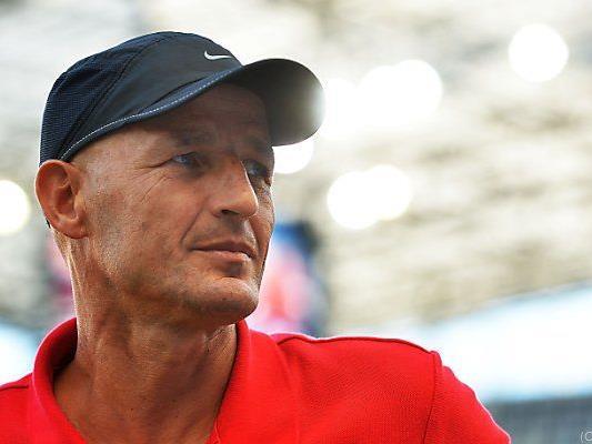 Salzburg-Trainer Peter Zeidler
