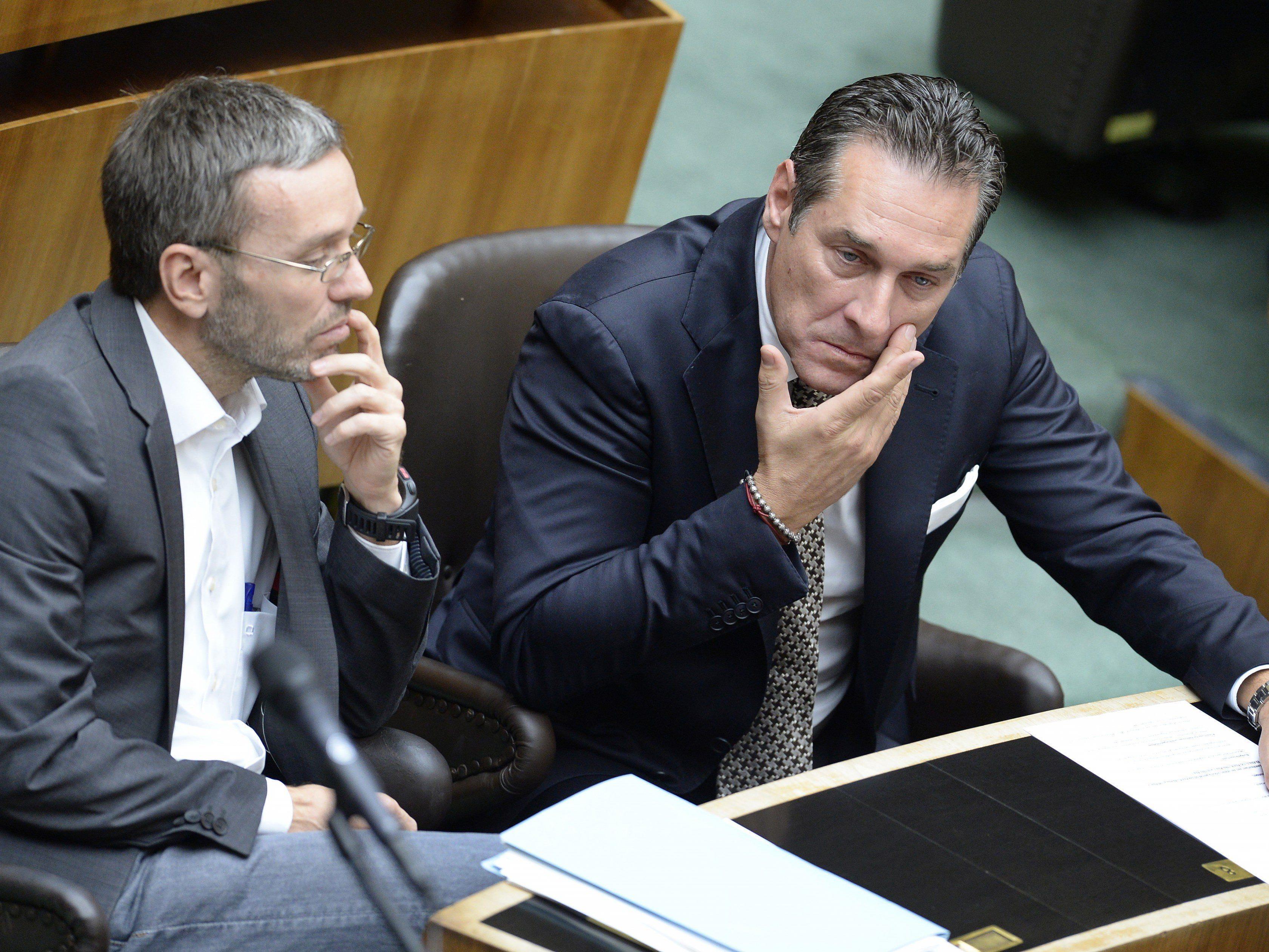 Vorwürfe gegen Kickl wegen angeblicher Parteienfinanzierung