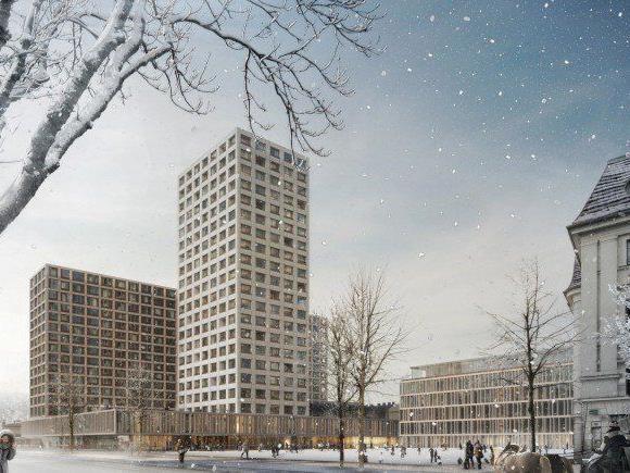 Das geplante Hochhaus am Areal des Wiener Eislaufvereins wurde von der UNESCO abgelehnt.