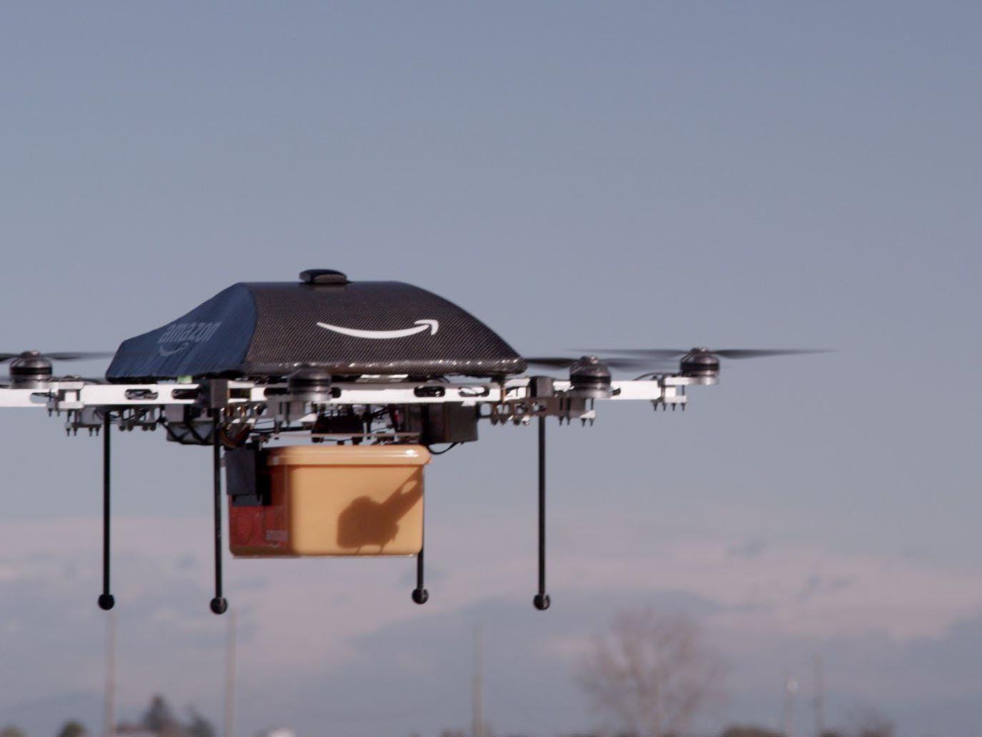 US-Internetriese will Pakete per Miniflugzeug zustellen.