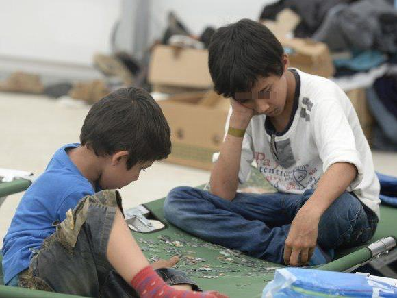 Besonders den Kindern unter den Flüchtigen soll mit der Öffnung der Akademie geholfen werden.