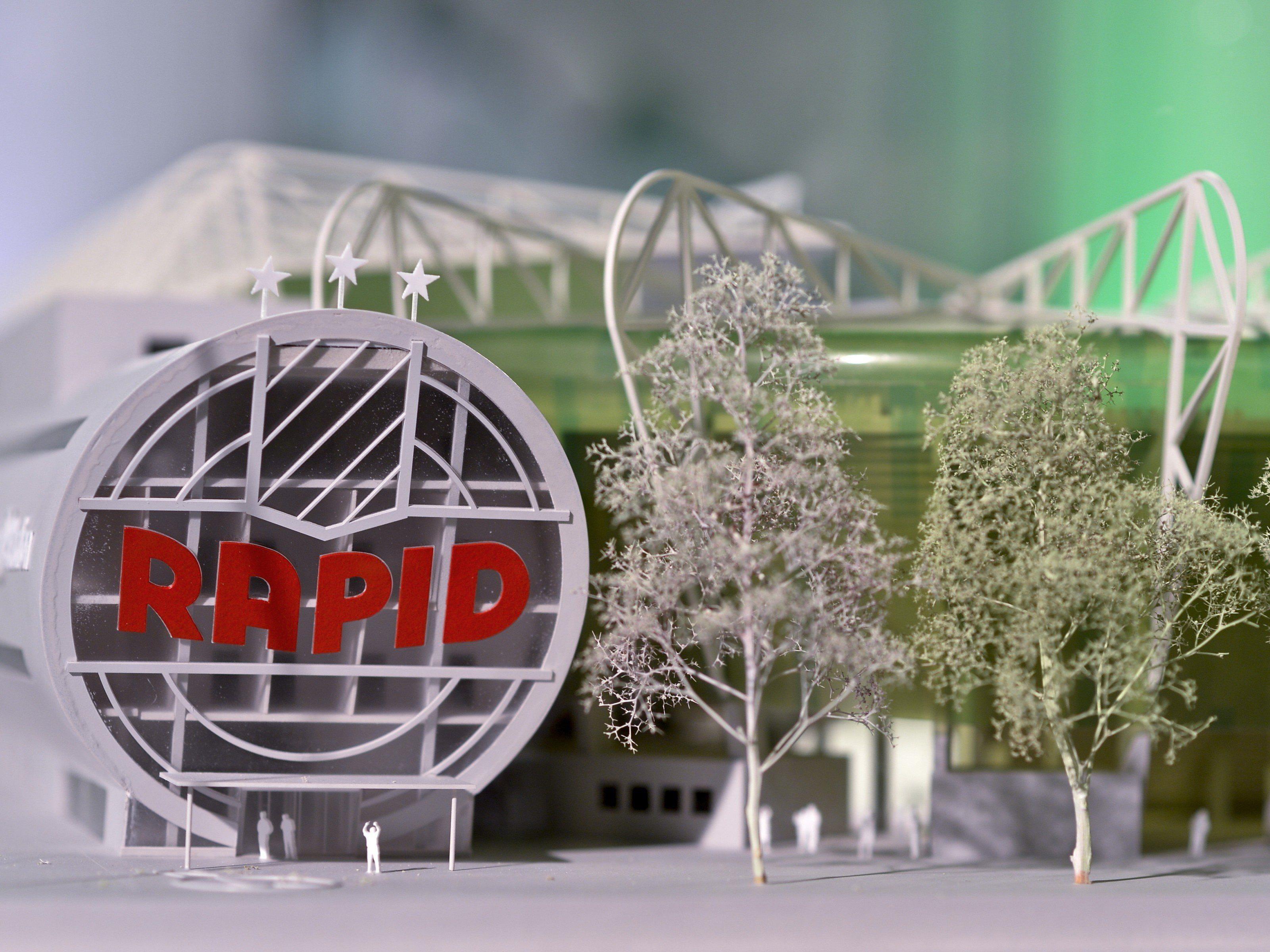 Das is das VIP-Konzept im neuen Allianz-Stadion von Rapid Wien.
