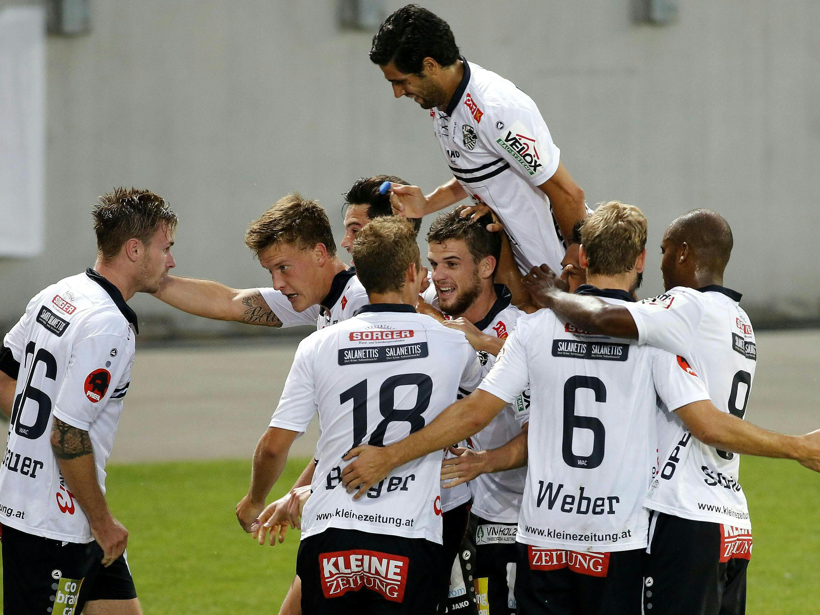 WAC siegt und steigt in die 3. Runde der Europa League-Qualifikation auf.