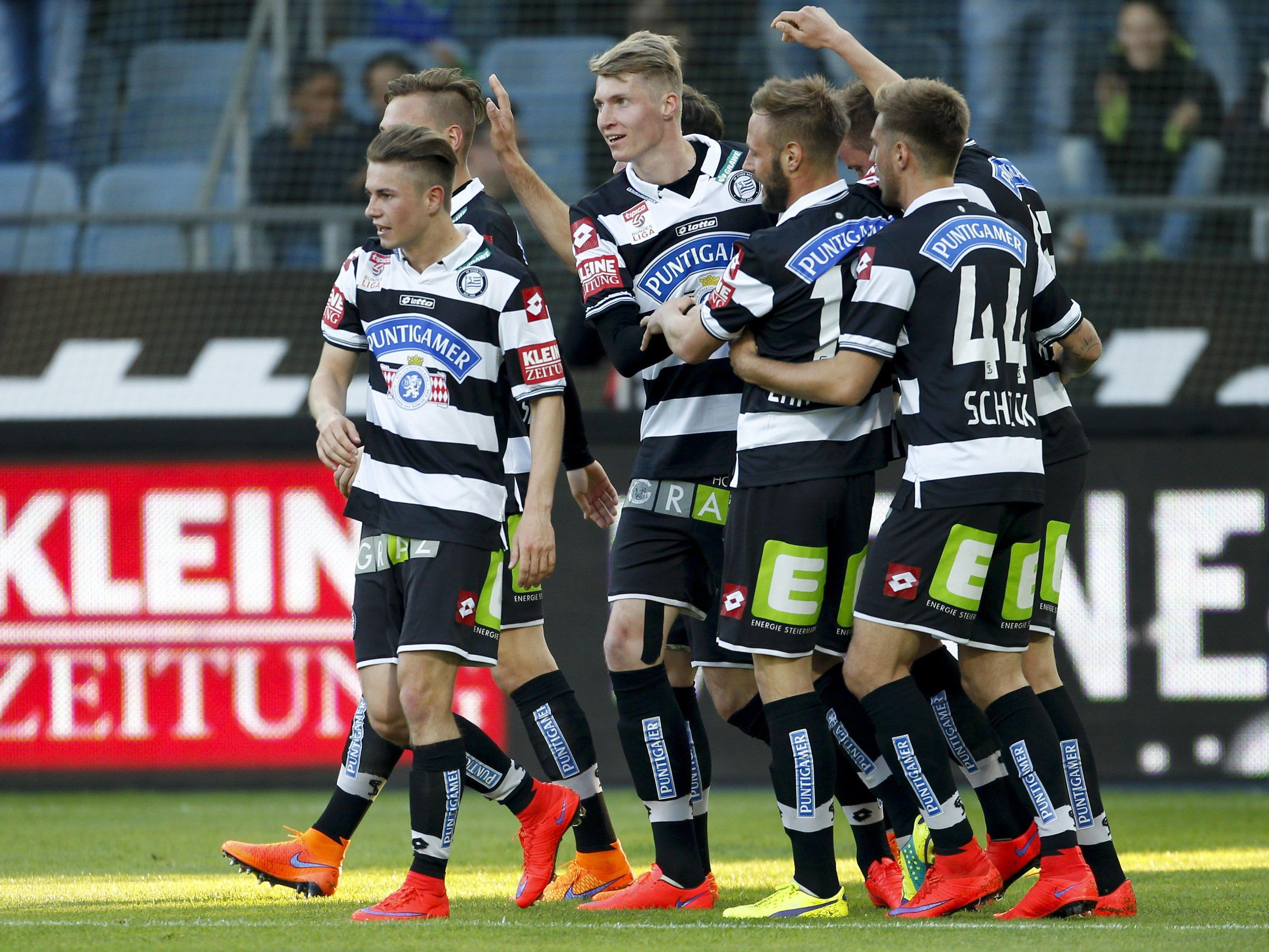 LIVE-Ticker zum Spiel SK Sturm Graz gegen SV Grödig ab 19.00 Uhr.