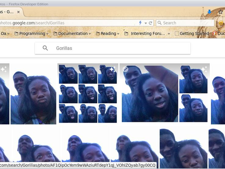 Da hat sich bei Google der Rassismus-Teufel in der Software eingeschlichen.