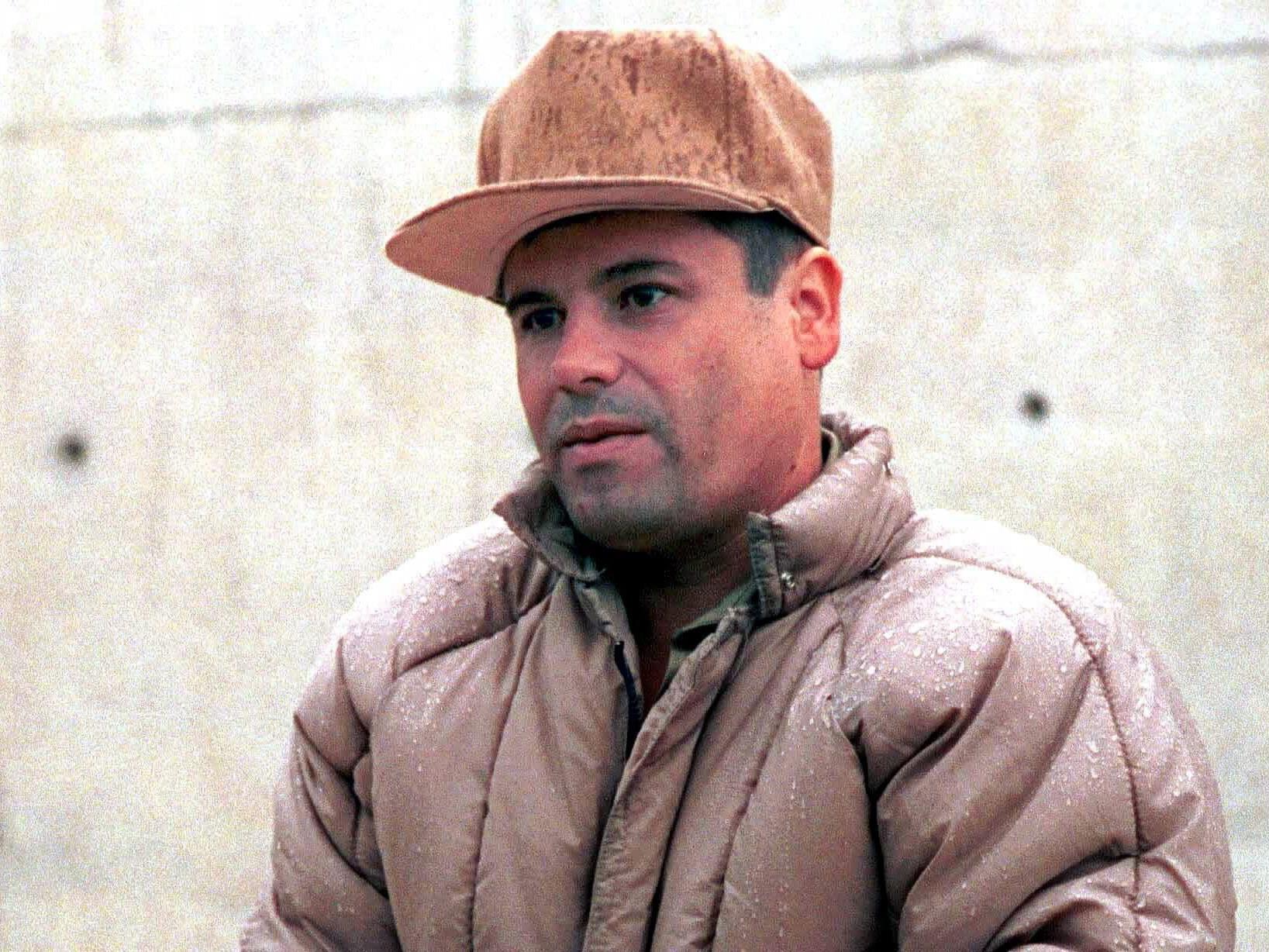 """Joaquin """"El Chapo"""" Guzman im Jahr 2001."""