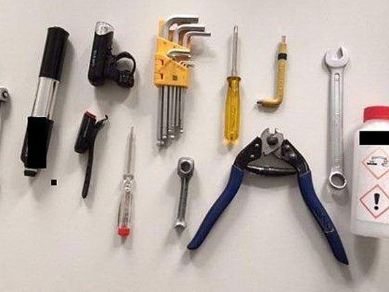 Dieses Werkzeug wurde bei dem Dieb in Wien 15 sichergestellt