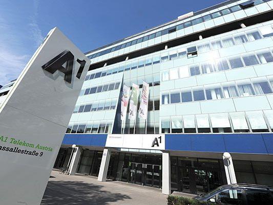 Gute Stimmung in der Telekom Austria Zentrale.