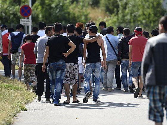 Mit der Verfassungsänderung soll die Flüchtlingsunterbringung erleichtert werden.