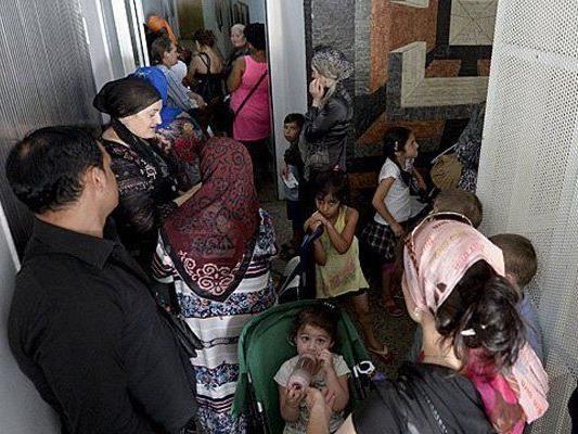 Rund 50 Mädchen sind ohne Begleitung im Traiskirchner Flüchtlingszentrum.