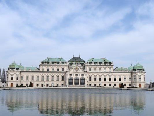 Auch virtuell kann man das Belvedere in Wien besichtigen.