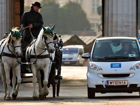 Car2Go verkleinert das Geschäftsgebiet in Wien.