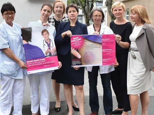 Neue Kampagne soll das Gesundheitswesen für Gewaltfälle sensibilisieren.