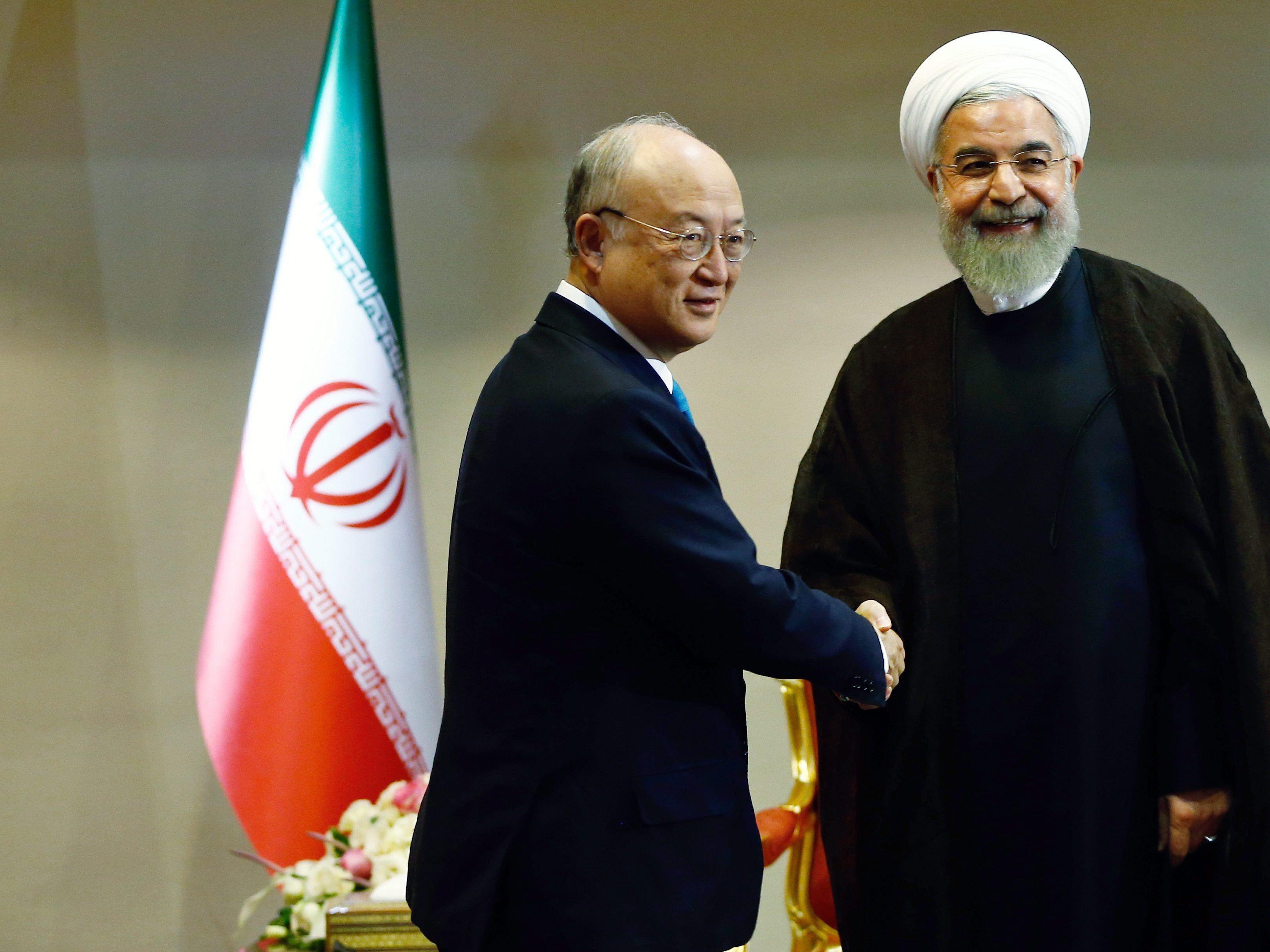 """Außenminister am Wochenende wieder in Wien - Khameneis """"rote Linien"""" entscheidend."""