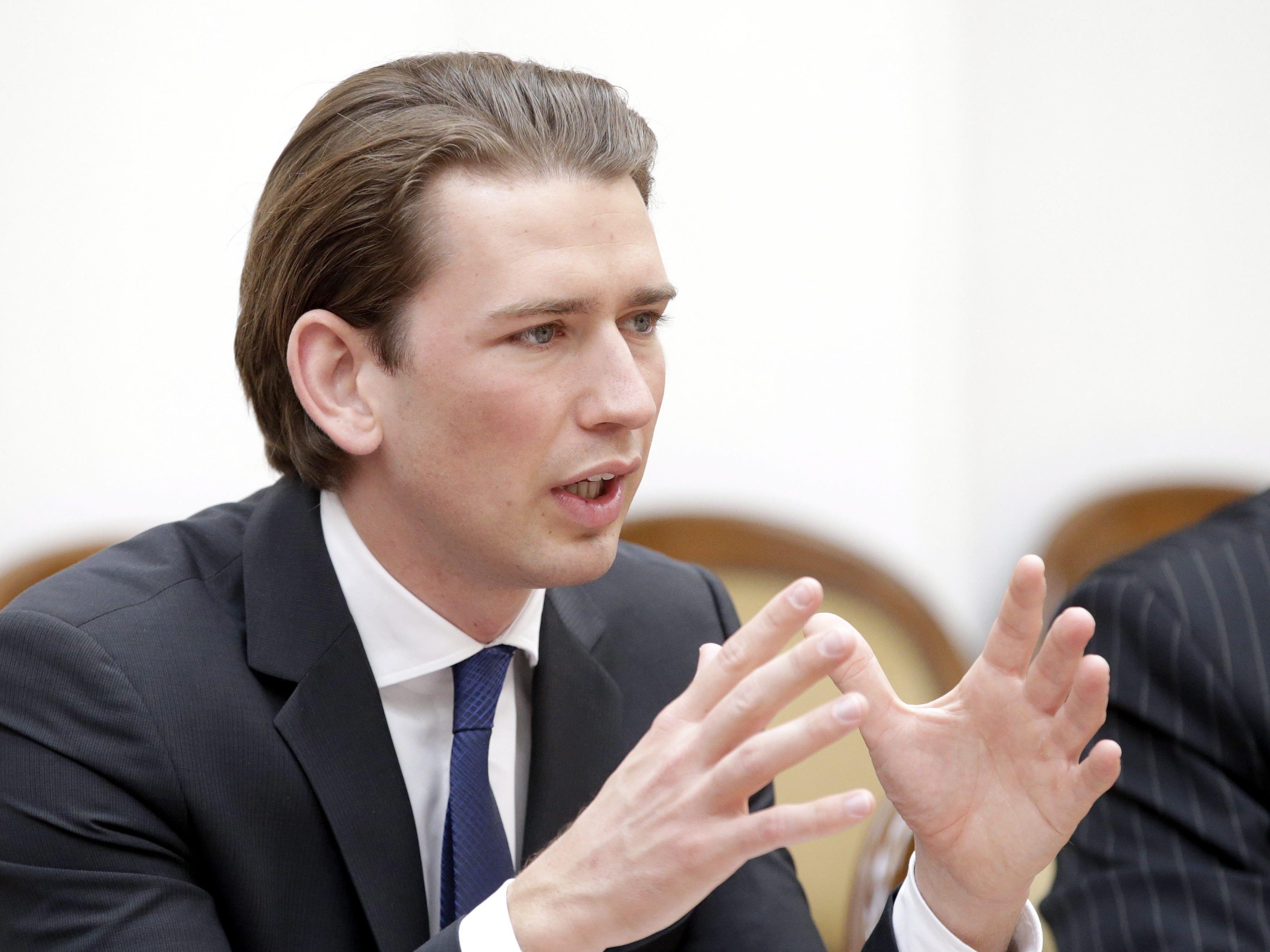 """Kurz fordert """"ehrliche Diskussion"""" in Sachen Asyl"""