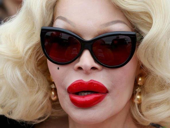 Amanda Lepore gilt ans transsexuelle Ikone