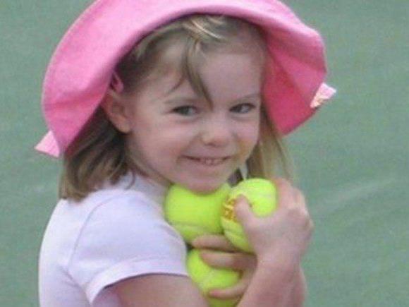 Britisches Mädchen 2007 in Portugal verschwunden.