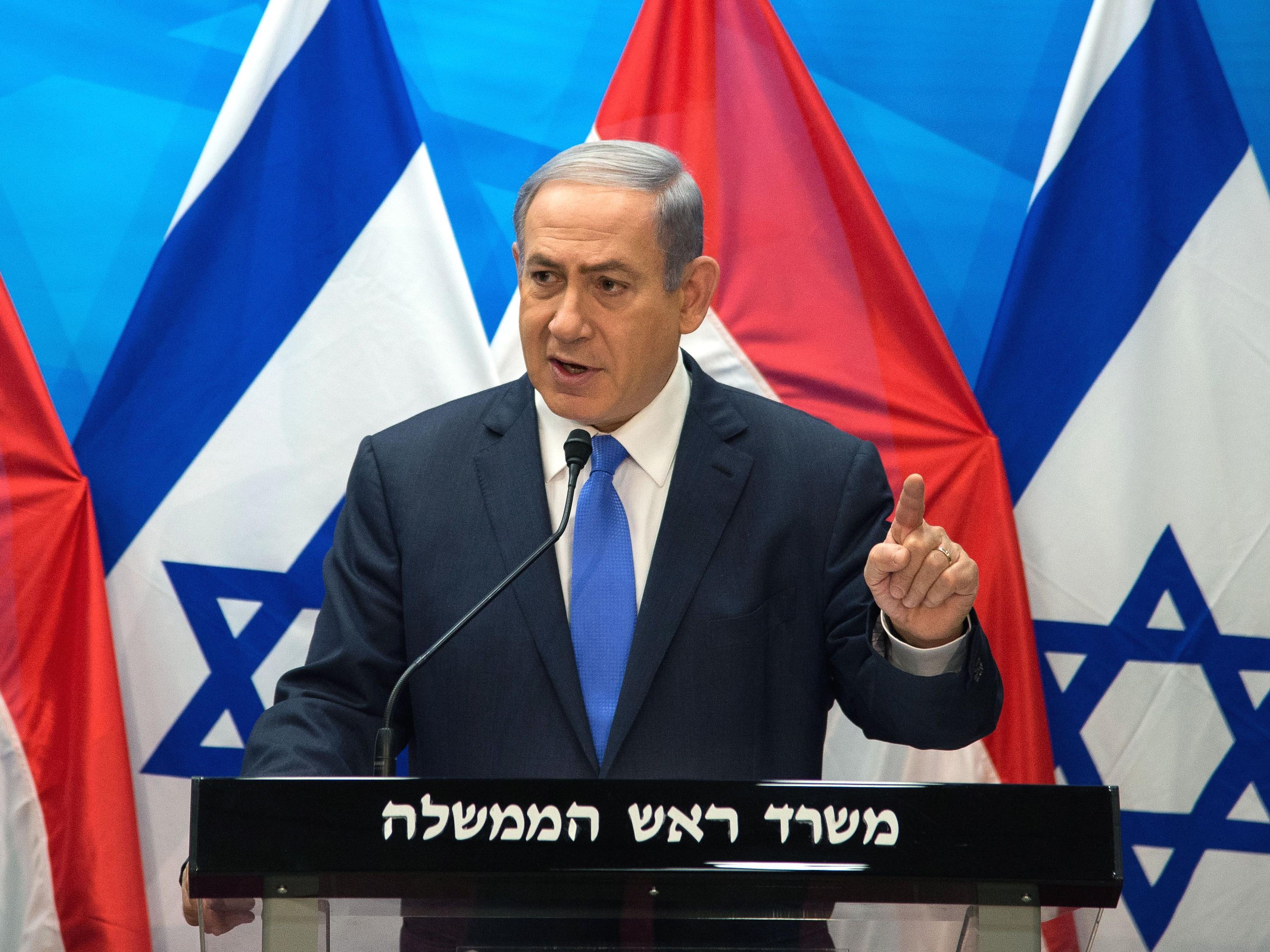 """Israels Regierungschef will """"Iranern die Wahrheit sagen""""."""