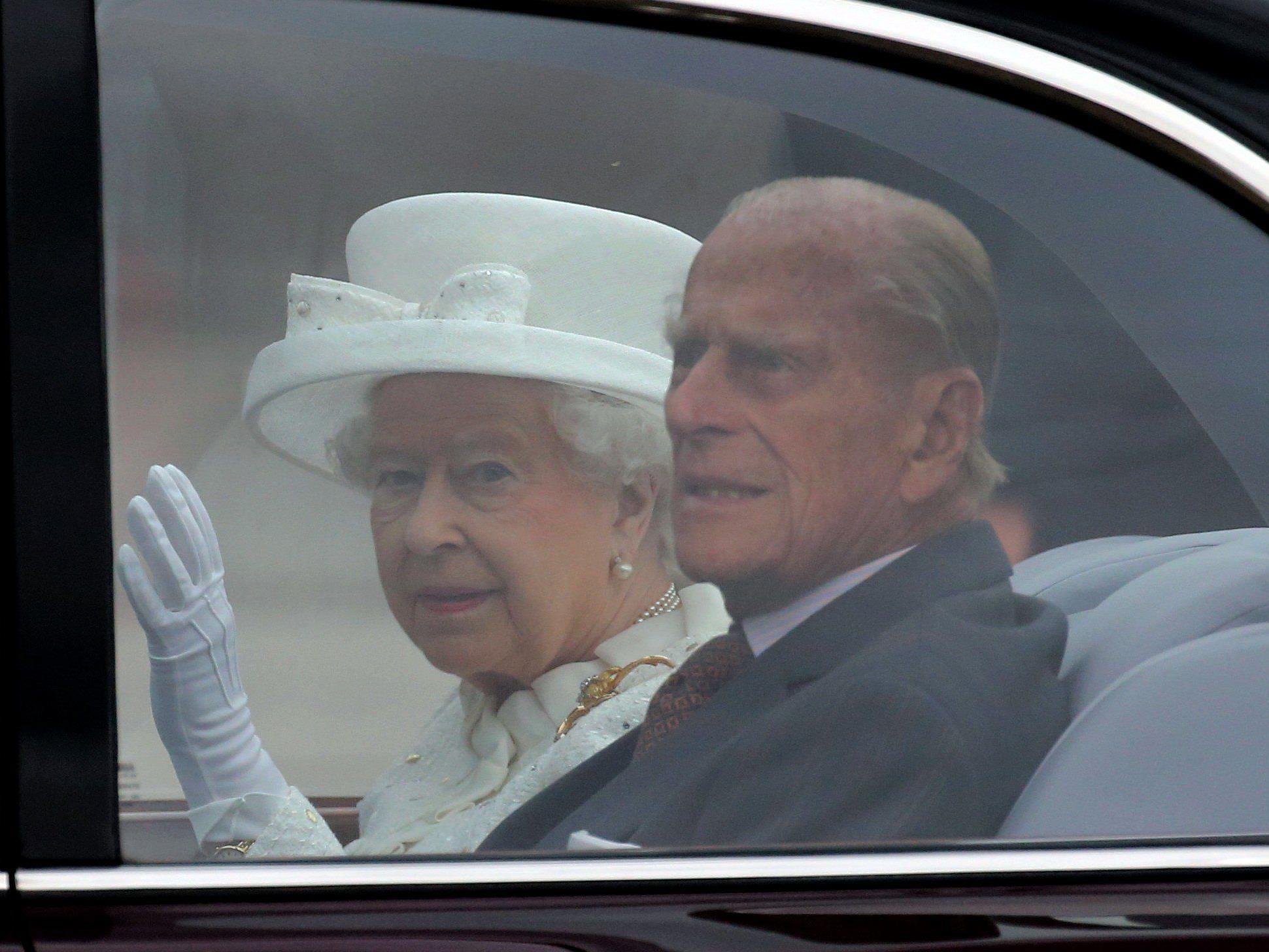 Prinz Philip lässt das Scherzen nicht
