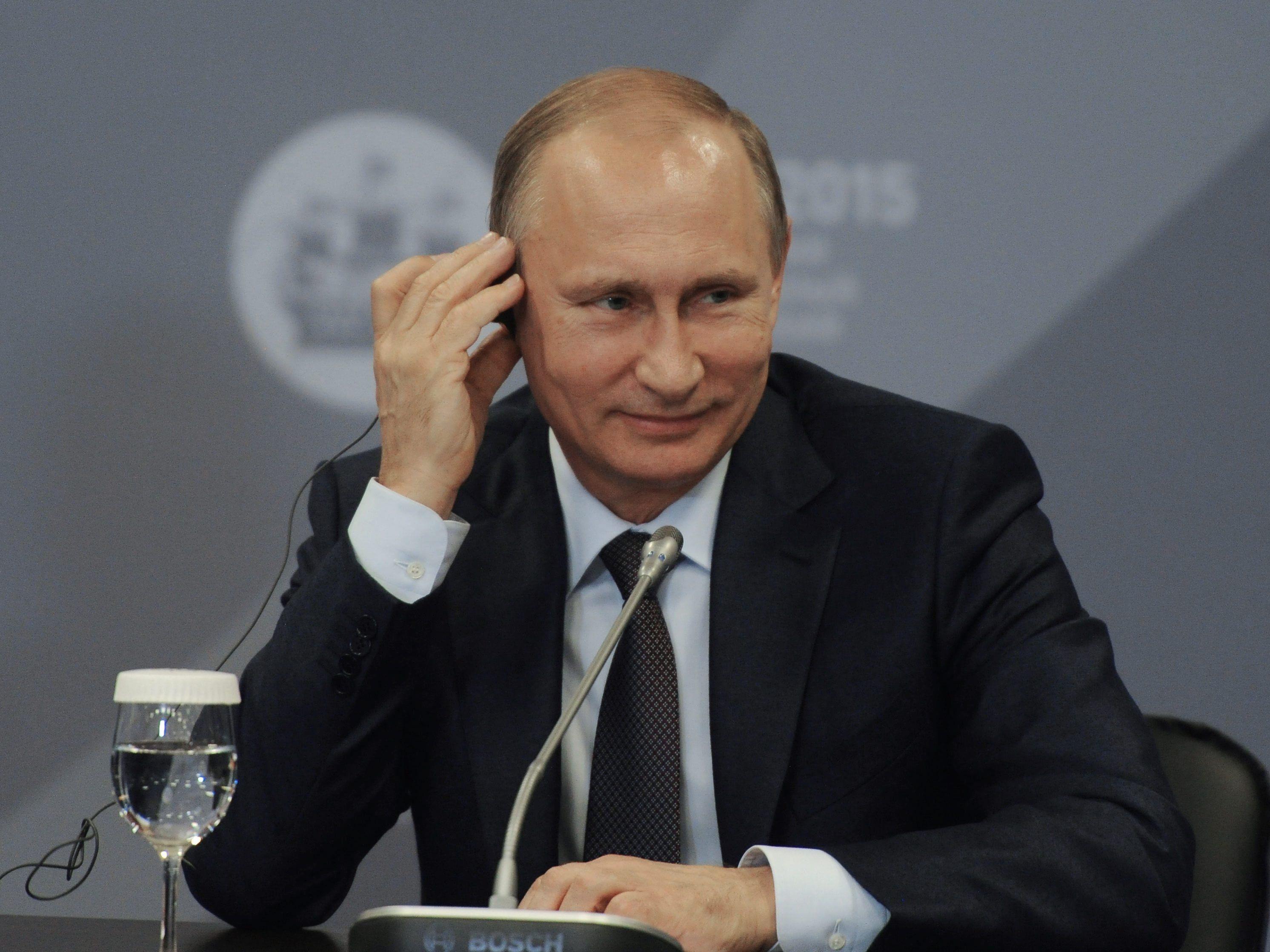 Gipfel im Doppelpack: Für Russland ist es der politische Höhepunkt des Jahres.