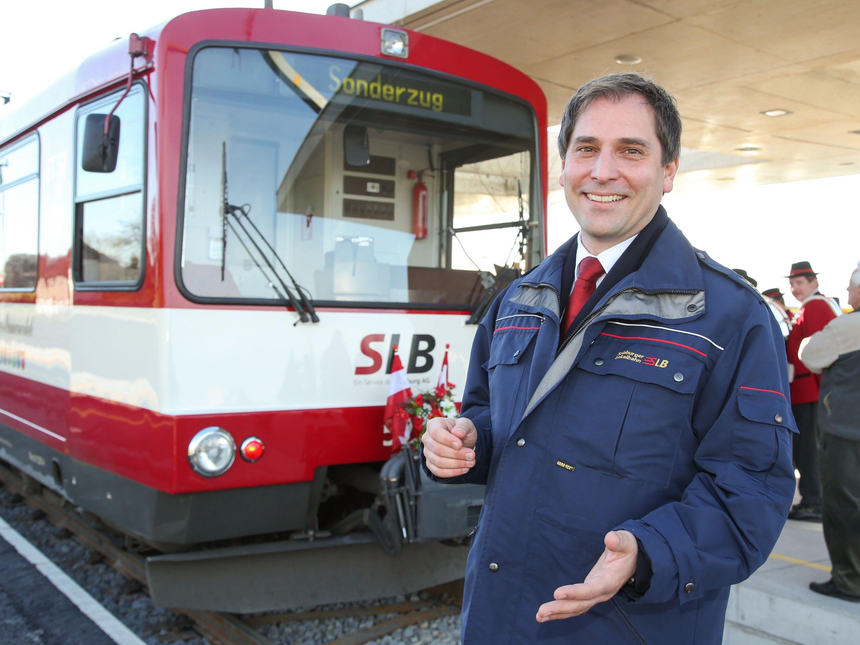 25 Mio. Euro für die Salzburger Lokalbahn.