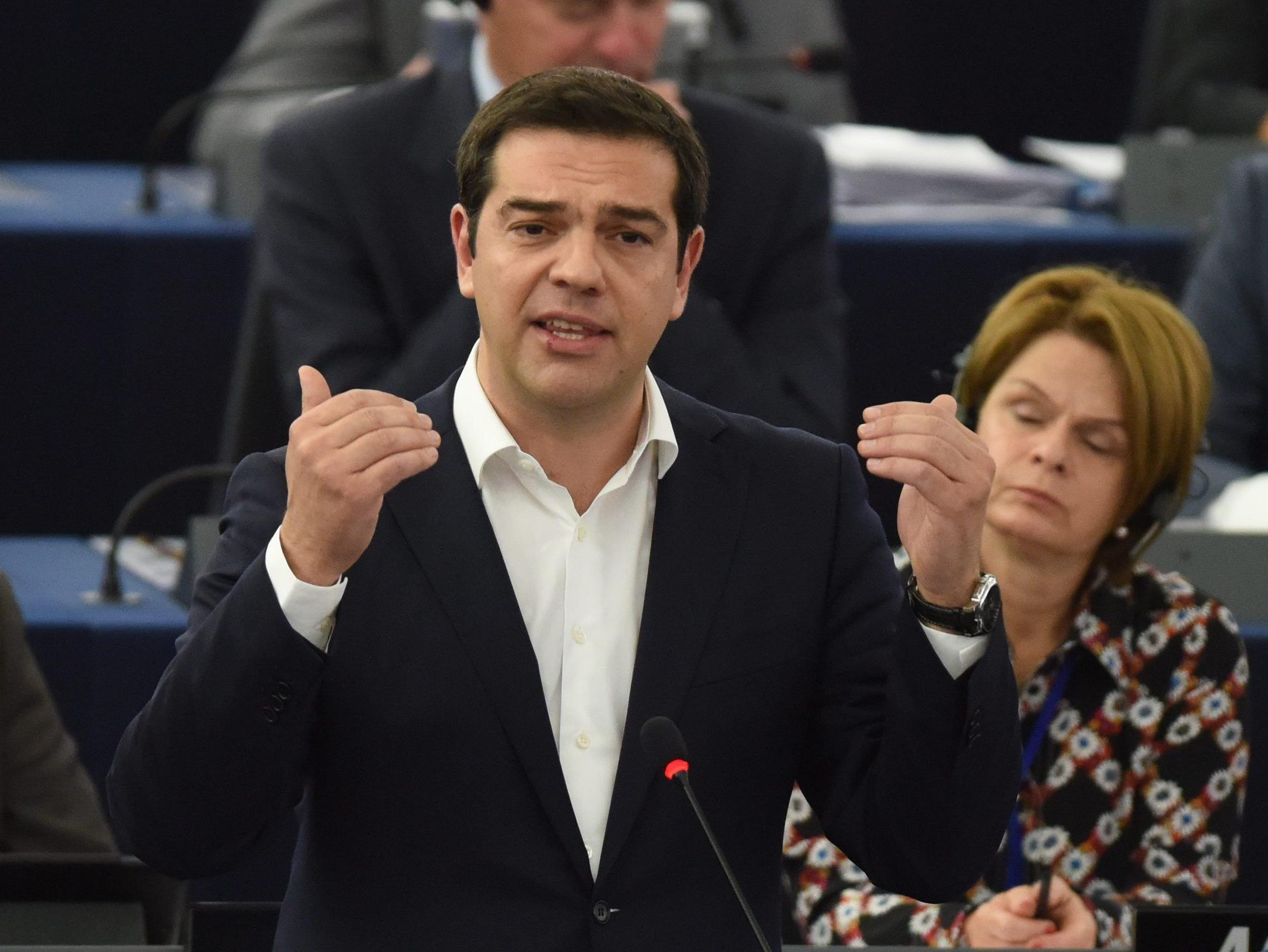 """Griechischer Premier will binnen zwei Tagen """"entscheidende Fragen"""" beantworten."""