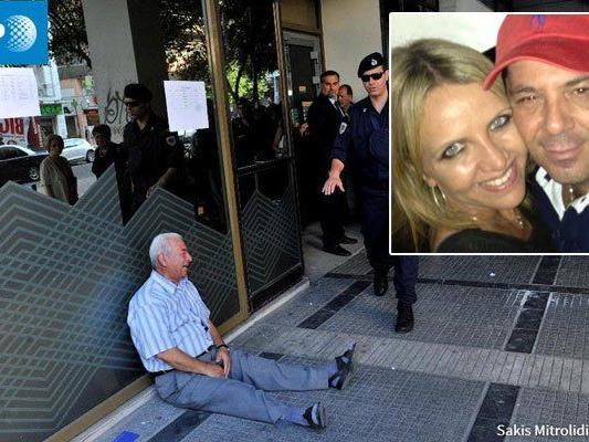 Foto aus Griechenland sorgt weltweit für Aufsehen - nun gibt es ein Happy End für den Pensionisten.