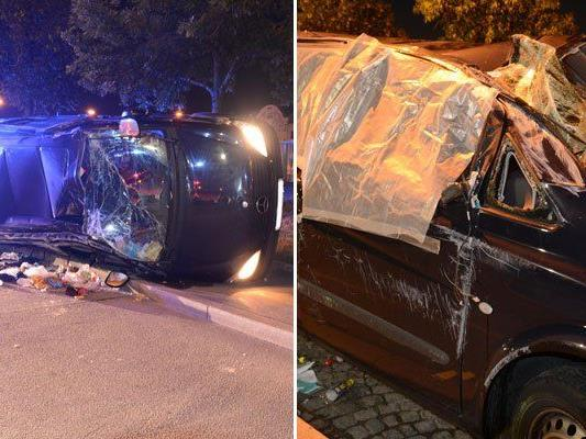 Verkehrsunfall in Wien-Leopoldstadt: Fünf Personen verletzt