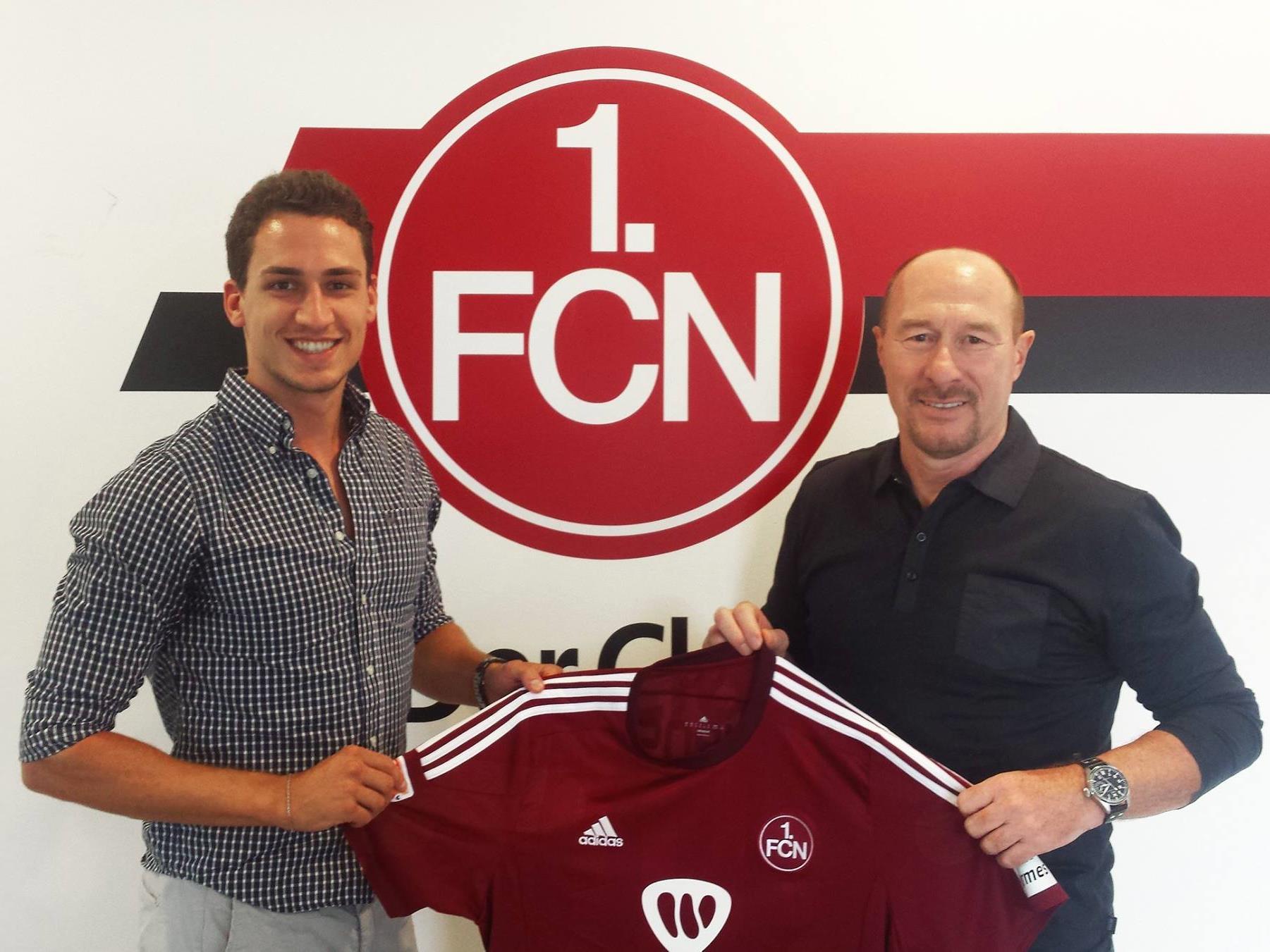 Georg Margreitter wird in Zukunft das Trikot des 1. FC Nürnberg überstreifen.
