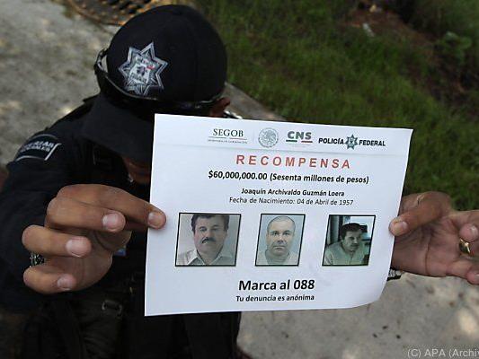 Gegen Guzman liegen in den USA mehrere Haftbefehle vor