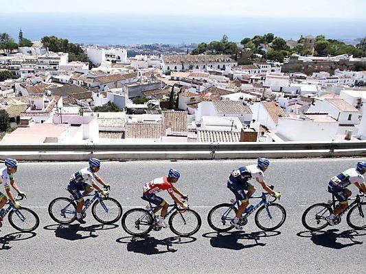 Dritte Etappe führte von Mijas nach Malaga