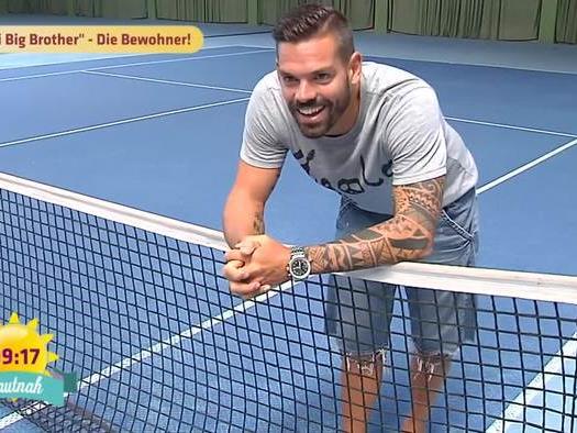 Ex-Tennis-Profi Daniel Köllerer zieht ins Promi Big Brother-Haus ein.