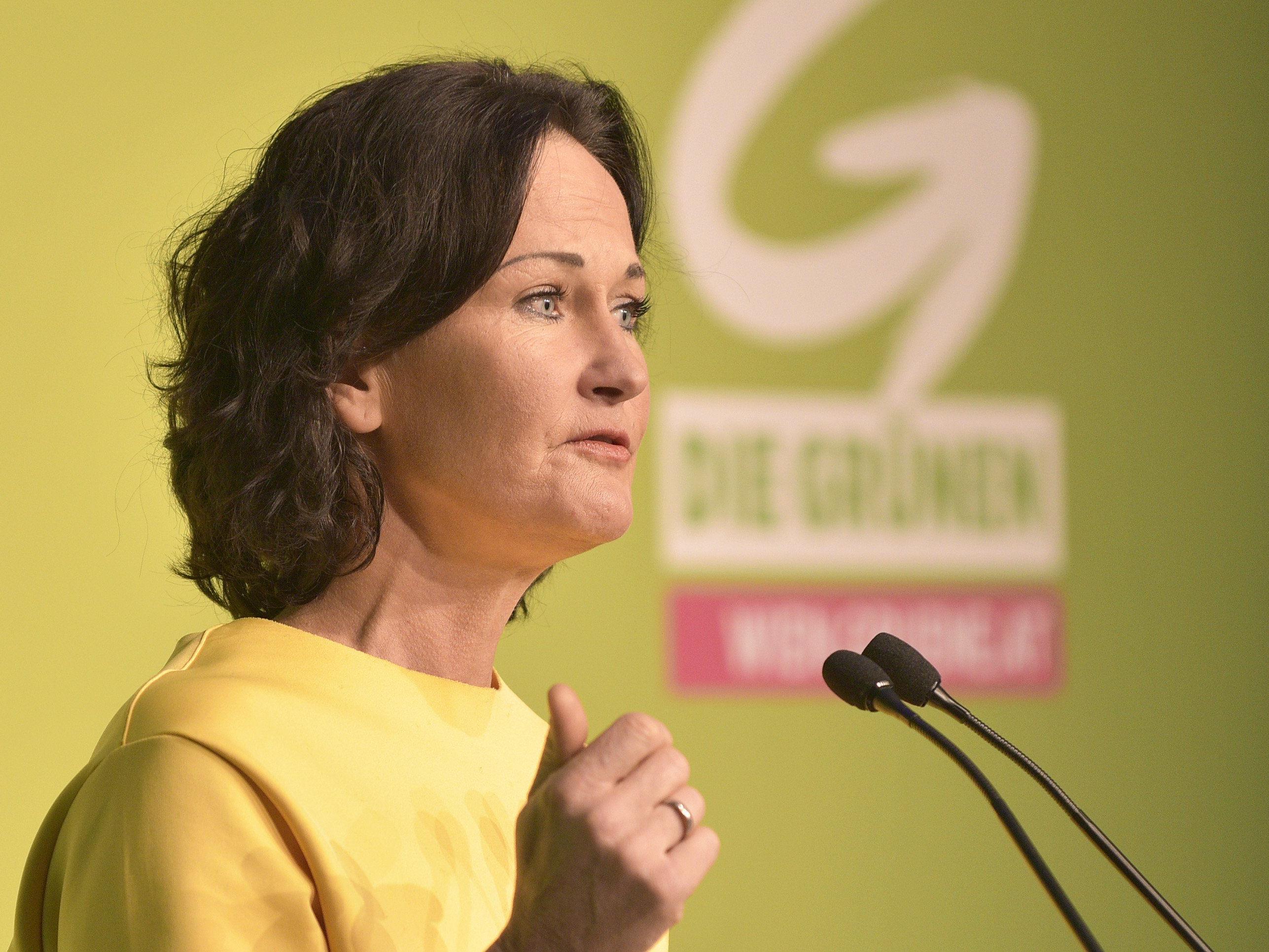 Eva Glawischnig, Bundesvorsitzende der Grünen.
