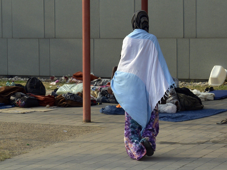 Es gibt einige Sammelstellen für Flüchtlinge und Bedürftige in Wien