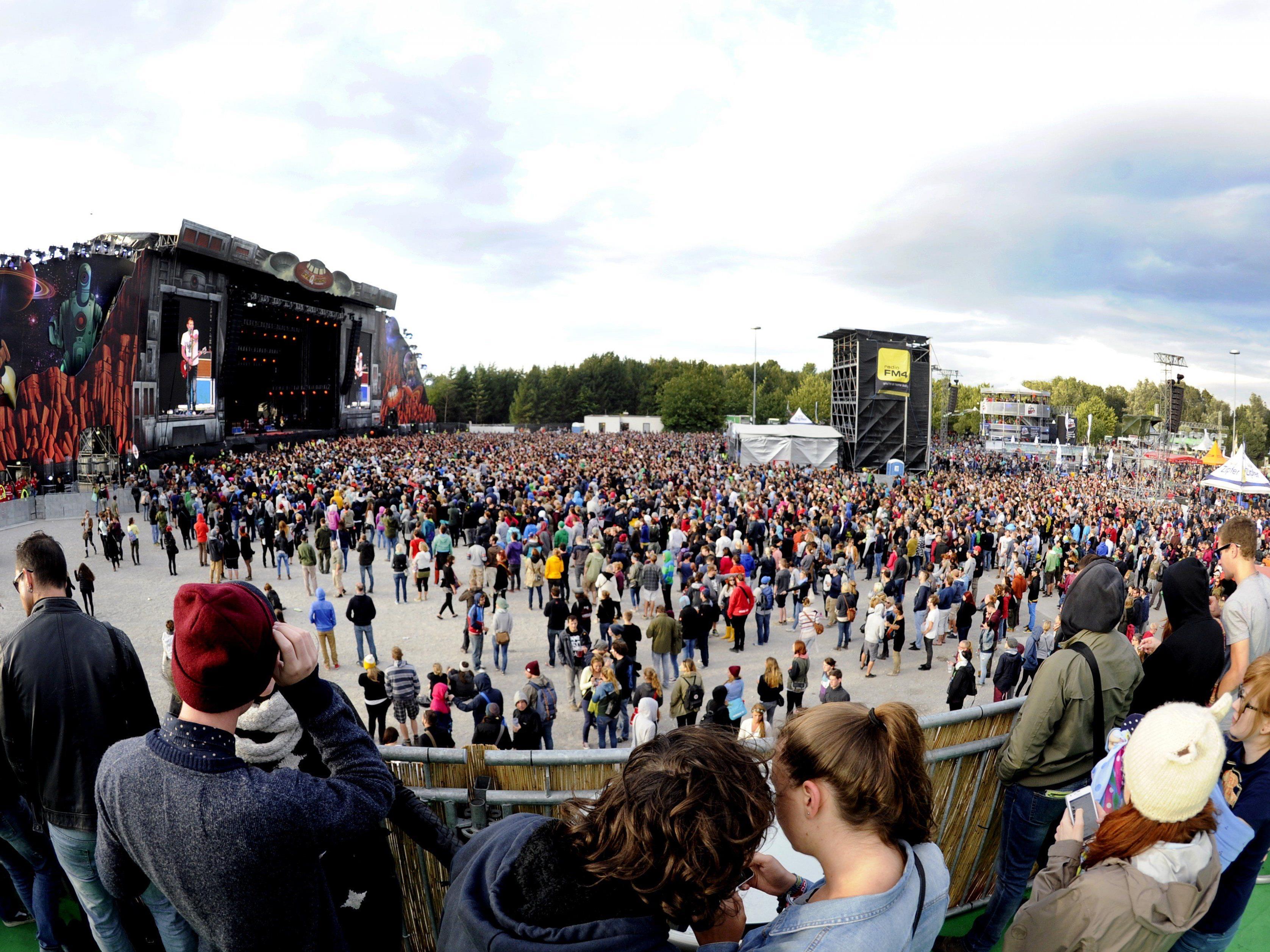 LIVE vom Frequency Festival 2015 - unser Social Media-Ticker.